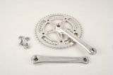 Sugino Mighty road crankset with Mighty Competition chainrings 42/52 teeth and 171mm length from the 1980s