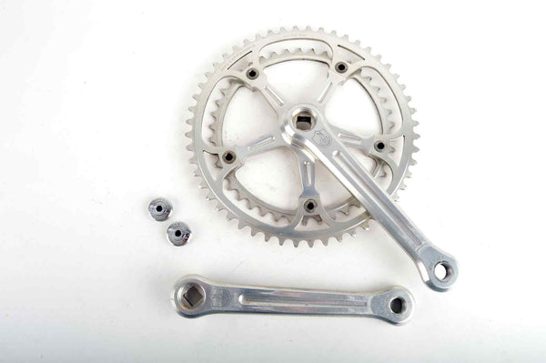 Campagnolo Super Record #1049/A crankset with chainrings 42/52 teeth and 170mm length from 1982