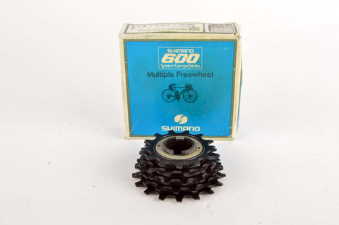 NEW Shimano 600 5-speed UG freewheel, 13-17, from the 1980s NOS/NIB