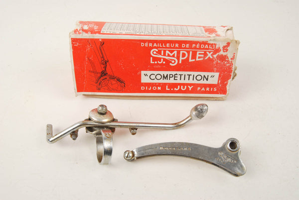 Simplex Competition clamp-on front derailleur from the 1950s