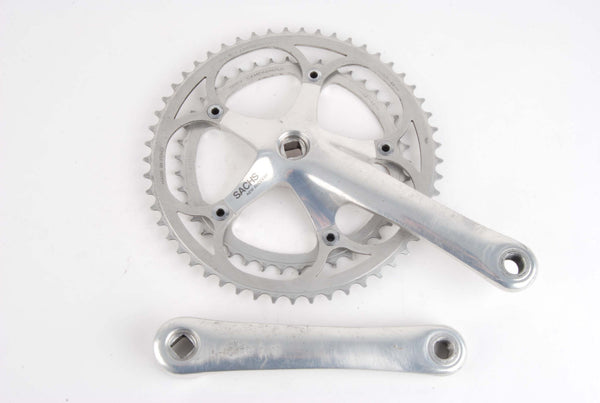 Sachs New Success crankset with Campagnolo chainrings 42/53 teeth and 170mm length from the 1980s