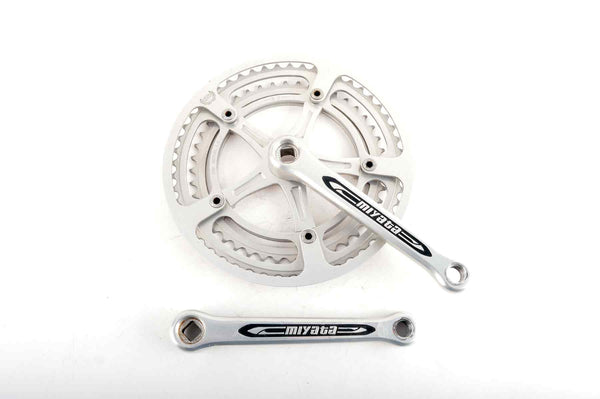 Sakae/Ringyo SR branded Miyata crankset with chainrings 44/52 teeth and 170mm length from the 1980s