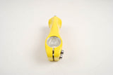 New Giallo Yellow 3 ttt Mutant Road Racing Ahead Stem in size 100 from the early 90s NOS/NIB
