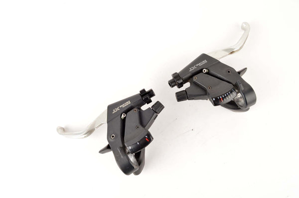 Shimano Deore XT #ST-M739 3/8 speed shifting brake levers from 1996