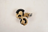 Gold Anodized Simplex SLJ A500 Front and SLJ 5000 Rear Derailleur Set , 1973 - 80s
