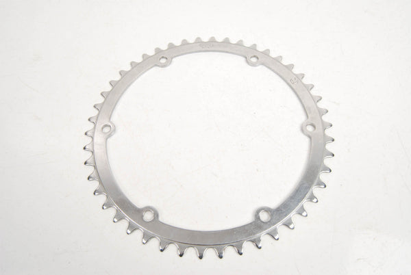Simplex 6-bolt steel chainring with 46 teeth from the 60s
