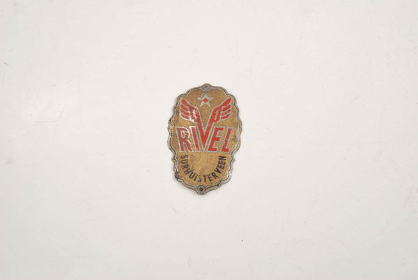 Rivel Surhuister Veen Headbadge from the 1980s