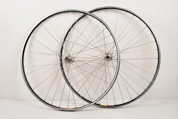 Rigida 21 SI rims with Campagnolo Gran Sport hubs from the 80s