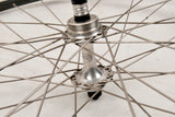 Campagnolo Athena/Victory/Triomphe hubs with Campagnolo Omega Strada V profiled clincher rims from the 80s