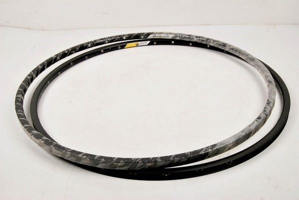 Campagnolo Omega 19 alloy clincher rims, grey anodized in 700c from the 90s