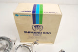 Shimano 600EX Arabesque brake caliper (BR-6200) and brake lever (BL-6200) set NOS/NIB from 1982/83