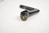 Black anodized Cinelli 1R. Record stem with Super Record pantography in 100 length from the 80s