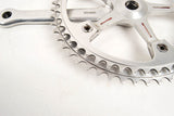 Ernesto Colnago pantographed road crankset with 52/48 teeth and 172,5 length from the 80s
