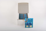 NEW Agu Sport blue shiny handlebar tapes (pack of 12) from the 1980s NOS / NIB