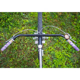VeloOrange Grand Cru Klunker Bar Handlebar in 68 cm (c-c) and 25.4 mm clampsize, nickel and black