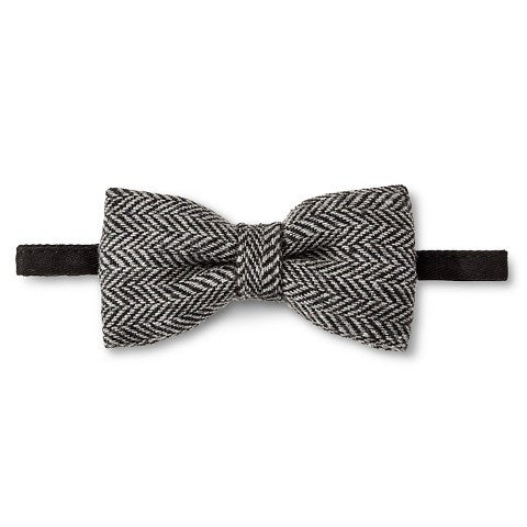 Boys' Herringbone Bow Tie