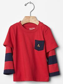 Gap 2 in 1 Pocket Tee