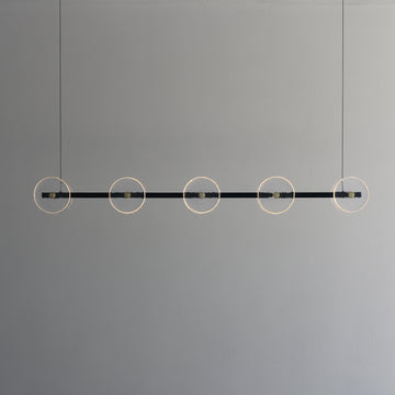 CORAL LINEAR BAR (CLEAR) - PENDANT LIGHT