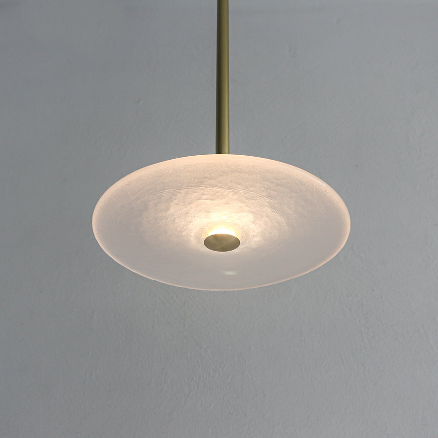 CORAL SINGLE ROD (FROSTED) - PENDANT LIGHT