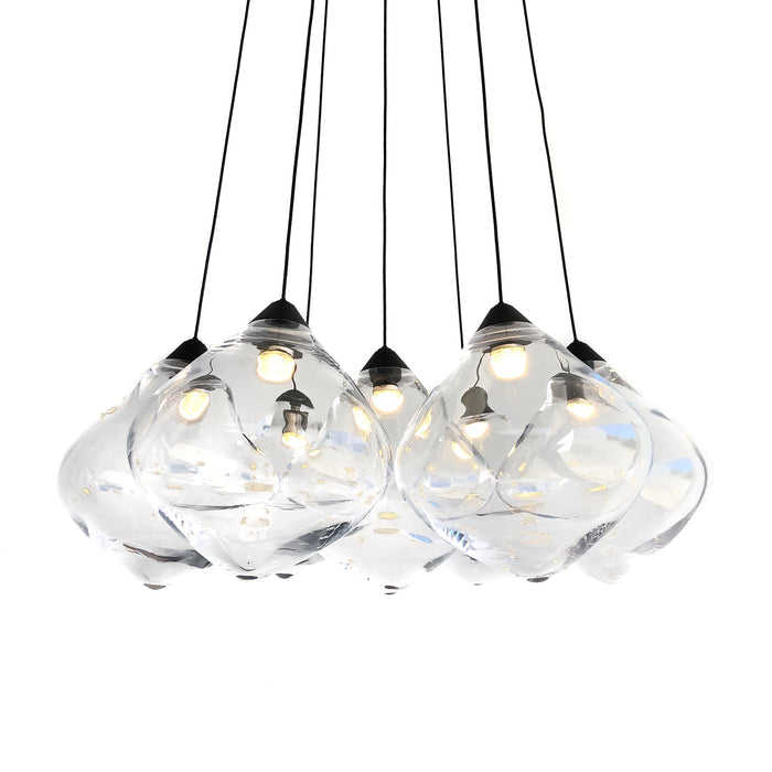 OLLO SEVEN CLEAR CLUSTER - PENDANT LIGHT