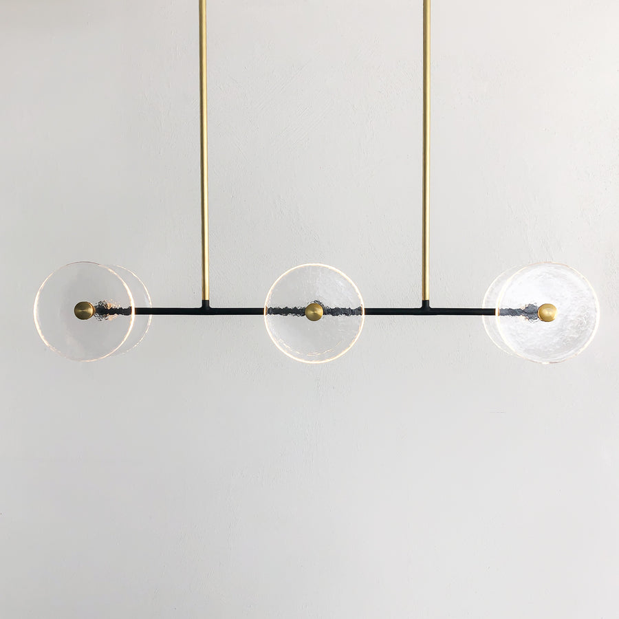 CORAL LINEAR ROD (CLEAR) - PENDANT LIGHT