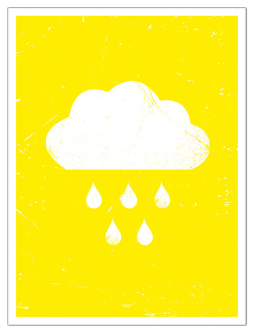 Plakat sky i solskinn/poster cloud yellow