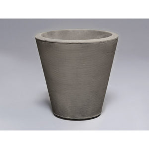 Manchester Faux Stone Tapered Container - Indoor / Outdoor Planters