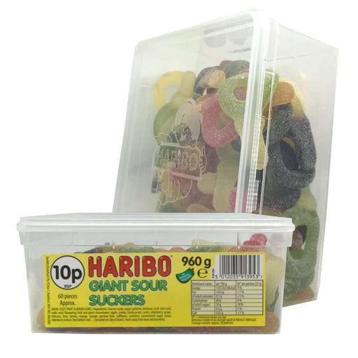 Haribo Giant Sour Suckers