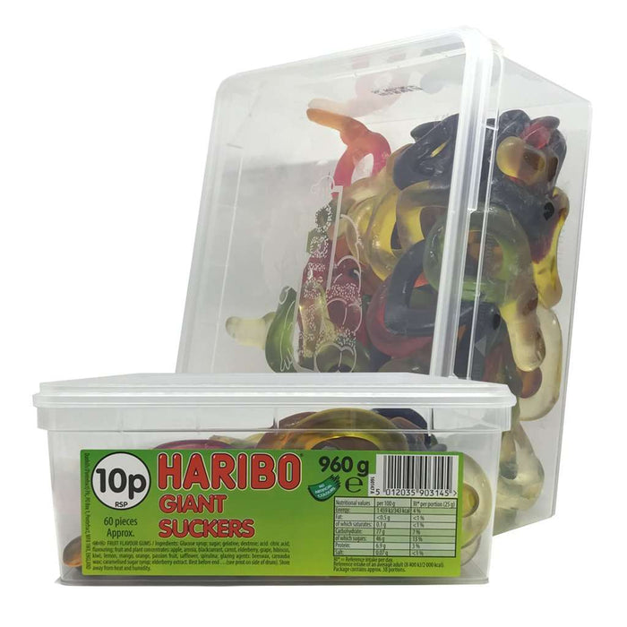 Haribo Giant Suckers