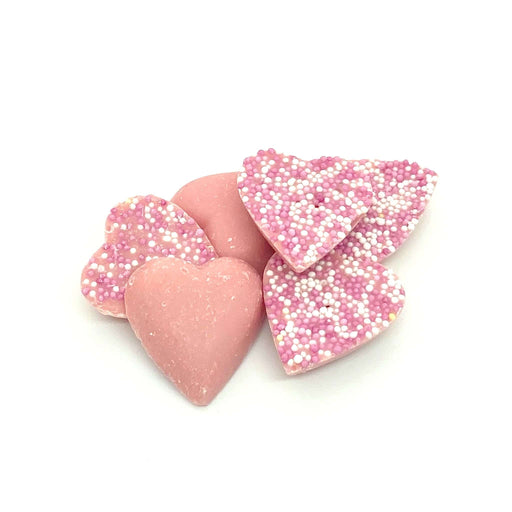 Chocolate Pink Hearts