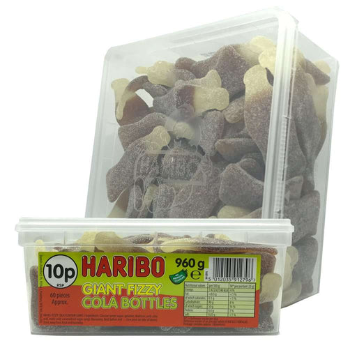 Haribo Giant Fizzy Cola Bottles