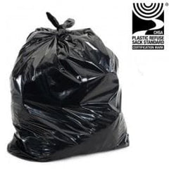 "Compactor Sacks, Size : 22 x 33 x 47"" Inches Multi Purpose, Extra Large, 290guage QTY100"