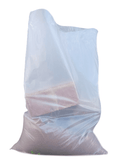 "Clear Heavy Duty Rubble Bags, 400Gauge 100Mu 22"" x 32"" Inches"
