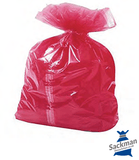 "Large Red Soluble Strip Sack  Size: 18x28x38"" Inches (457 x 711 x 965 mm) Box Qty 200"