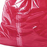 "Medium Red Soluble Strip Sack Size: 18"" x 29"" x 30"" Inches (457 x 711 x 762mm) Box Qty 200"