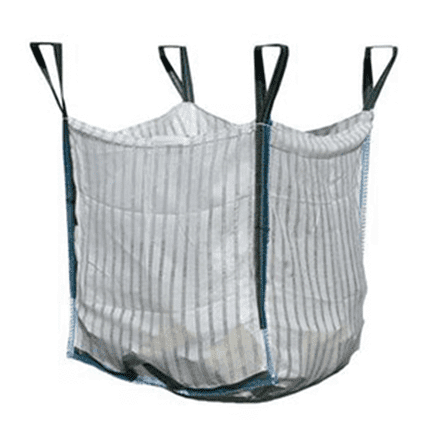 Ventilated Log Bulk Bags with tipping handle