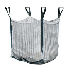 Ventilated FIBC Log Bulk Bags 90cm x 90cm x 92cm - Sackman
