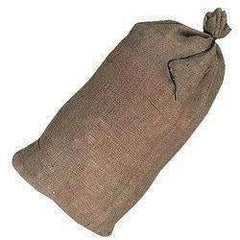 Filled Hessian Sandbags Size 25cm x 50cm x 10cm High - Sackman