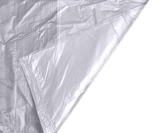 "QTY 200 Clear Refuse Sacks 16""x 25"" x 39"""