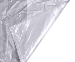 "Clear Refuse Sacks 16""x 25"" x 39"", QTY 200 - Sackman"