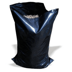 "QTY 100 Black Heavy Duty Rubble Bags, 20 x 30"" Inches (508 x 762mm) 