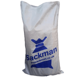 Printed Woven PP Rubble Sacks with your Logo. MOQ* - Sackman