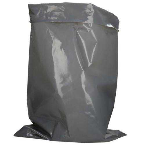 "100 Pack Super Strength XL Grey Rubble Bags, 520 Gauge 130Mu 22"" x 34"" Inches, 559mm x 913mm"