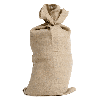 Christmas Santa Sacks Traditional Plain Hessian New 2018 Stock