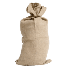 QTY 10 Christmas Santa Sacks Traditional Plain Hessian New 2020 Stock | Sackman | Sackman