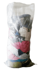 "50 Pack Laundry Washing Bags, Extra Large Size: 71 cm x 142 cm (Inches 29"" x 56"") suitable for 30 kg+ of Textiles Sackman"