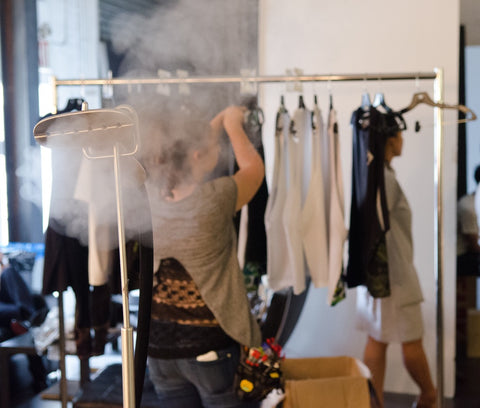 luxury activewear for men behind the scenes