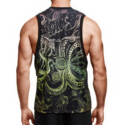 Black Deep Sea Tank (Masterclass Apparel)