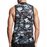 Gray Camouflage Tank