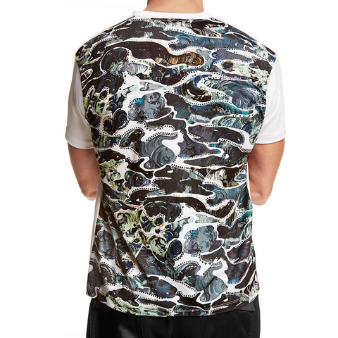 Silver Camouflage T-Shirt